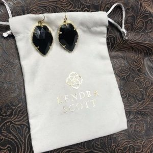 Kendra Scott Corleys  black and gold